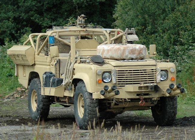 WarWheels.Net- Land Rover SAS 110 Desert Patrol Vehicle Index