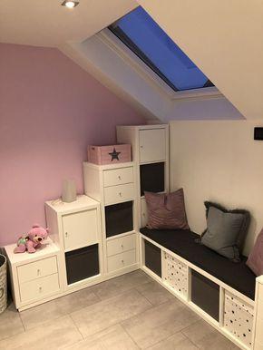 Die ultimative Kinderzimmer Eck-Kombination aus Ikea Kallax Regalen
