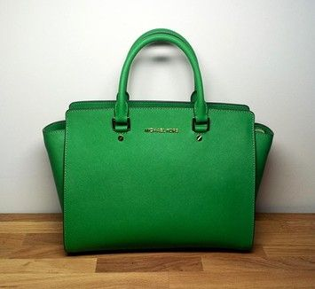 7 best Green bagging images on Pinterest | Green handbag, Michael ...