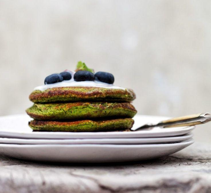 Fiberpandekager med spinat – MadforLivet.com