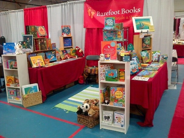 A lovely Barefoot Books Ambassadors display!