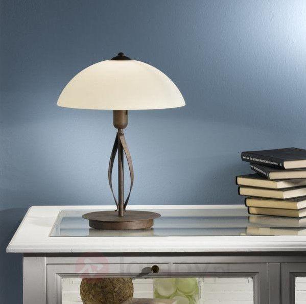 Dla wszystkich, którzy dużo czasu spędzają przy biurku - elegancka lampa pasująca do klasycznego wnętrza.