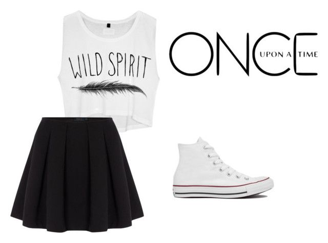 """""""Untitled #202"""" by netball-272 ❤ liked on Polyvore featuring Polo Ralph Lauren, Once Upon a Time, Converse, women's clothing, women's fashion, women, female, woman, misses and juniors"""