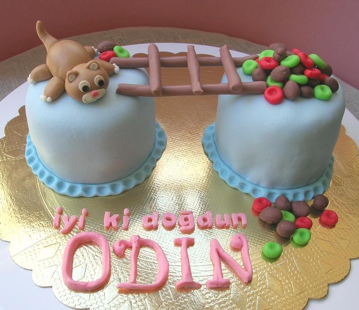 cat cake  mutludillimler.blogspot.com