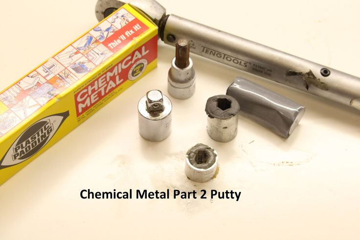 How to - Chemical metal to repair a Hex Socket Part 2 So after Playing round with chemical metal i wanted to do some more testing so i had a look around and ...