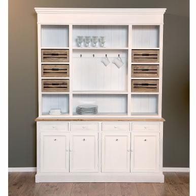 CAMPAGNE - Сервант кухонный  Буфет CAMPAGNE - предмет мебели, который не выходит из моды на протяжении веков. Вы можете хранить в нем посуду и столовый текстиль.  Размеры: 162 x 43 x 218 см 10000-00