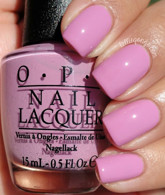 OPI Lucky Lucky Lavender // kelliegonzo.com