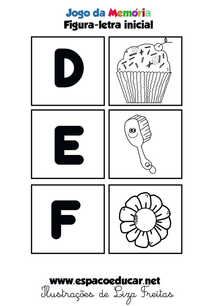 Jogo educativo para imprimir, brincar e aprender! Em dois formatos: colorido e em preto e branco para você escolher o que preferir. Pro...