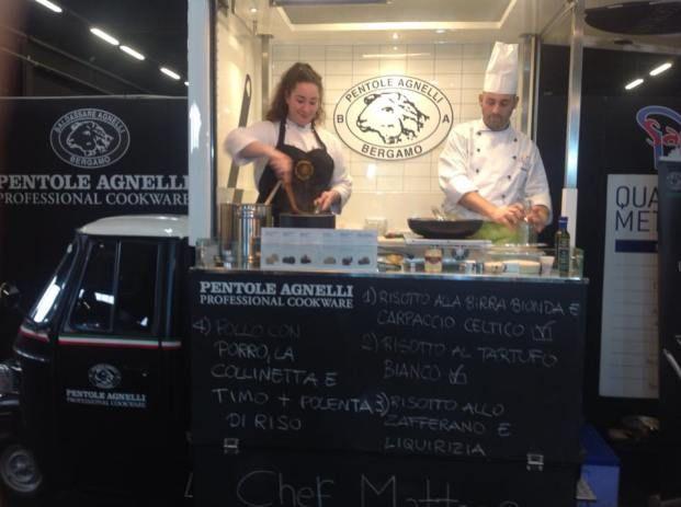 Food Truck al RistorExpo con Cascina Artusi