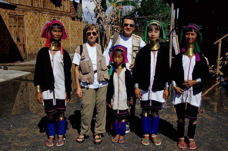 Donne del popolo Padaung