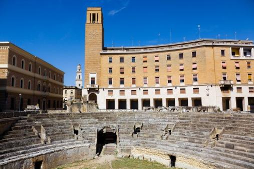 L'anfiteatr romano di Lecce risale al II secolo dopo Cristo e poteva ospitare fino a 25.000 spettatori. Sarà una delle meraviglia da ammirare durante Cibarti 2013
