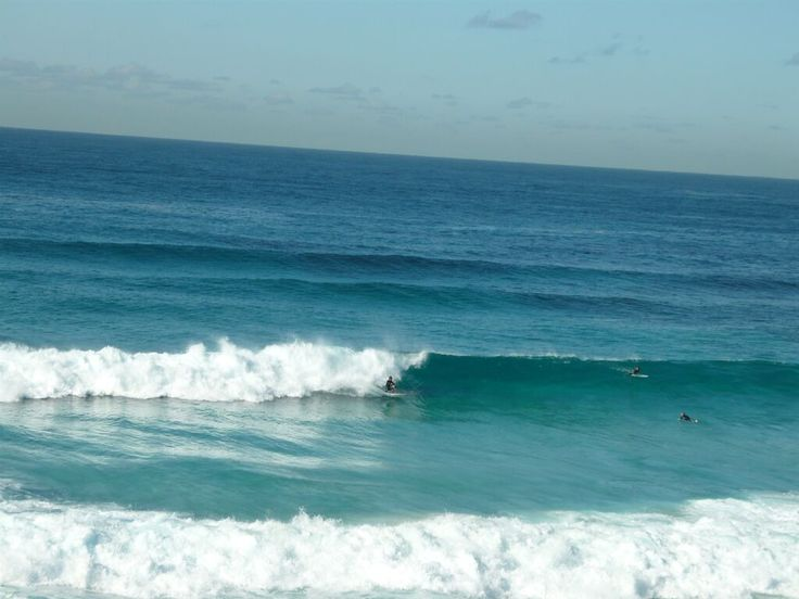 Bronte Park and Bronte Beach. Surfing is a national past time in Australia.
