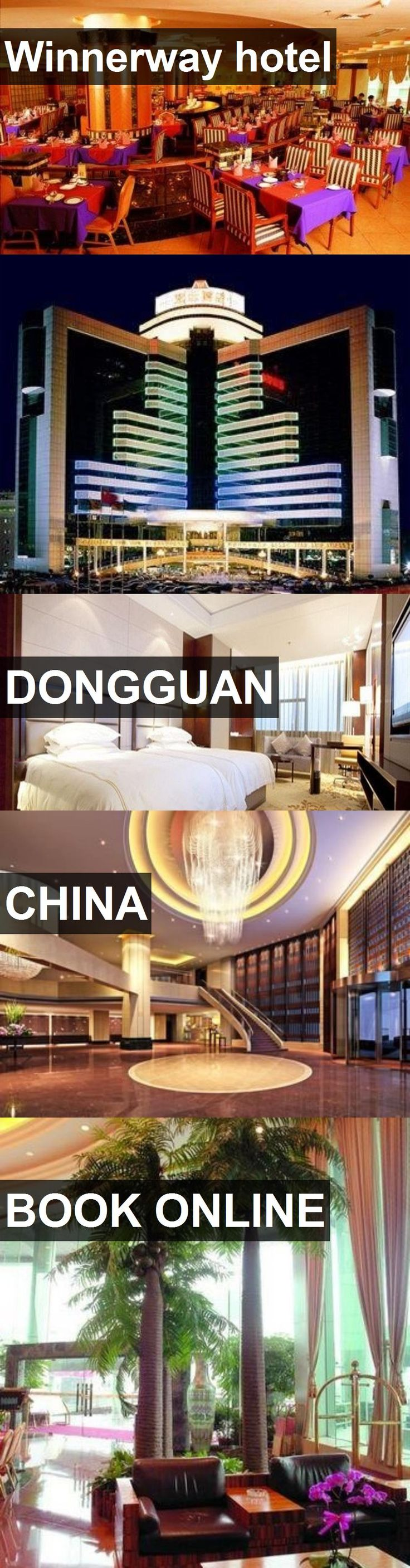 Winnerway hotel in Dongguan, China. For more information, photos, reviews and best prices please follow the link. #China #Dongguan #travel #vacation #hotel