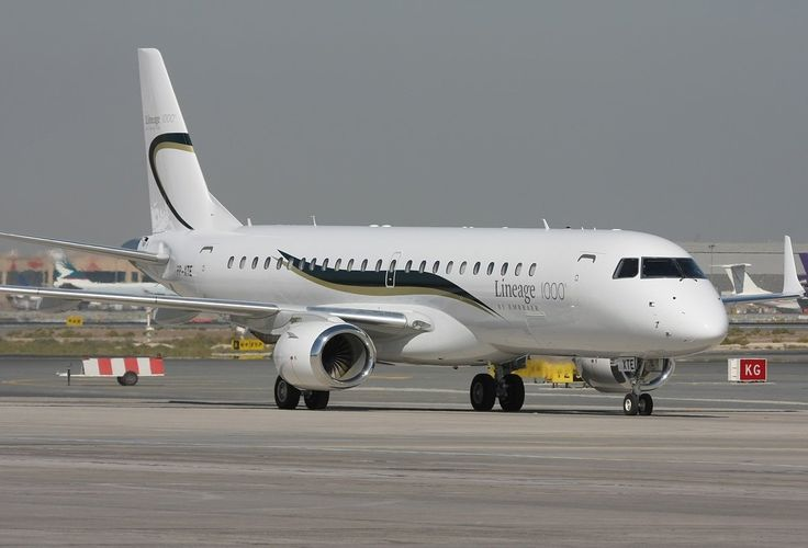 The G550's rivals include the Embraer Lineage 1000 from Brazil ...