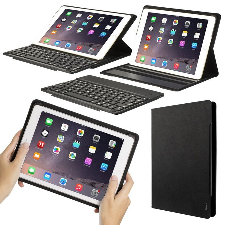 Amazon.com: OZAKI O!tool KeePad Keyboard Folio for iPad Air & Air 2 (Shape-shift Between iPad & Laptop in 1 Second): Cell Phones & Accessories