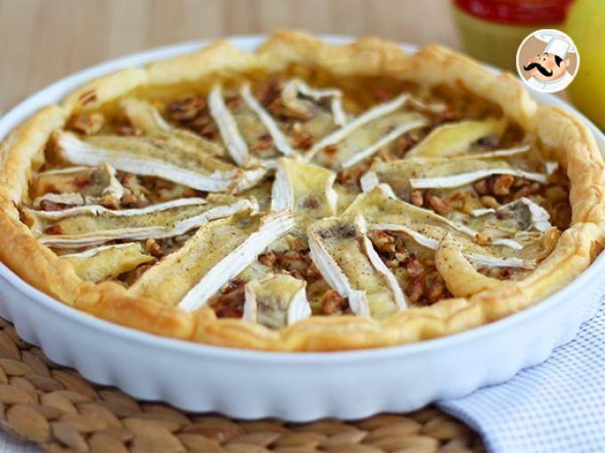 Receta Plato : Tartaleta de camembert y manzana por Petitchef_oficial