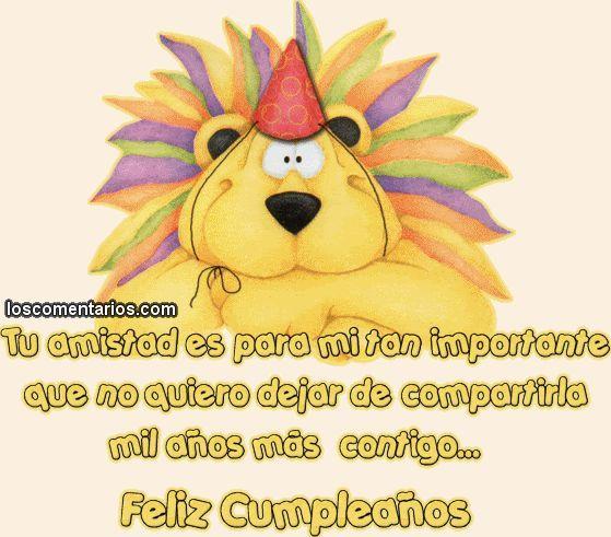 Saludos de cumpleaños originales 4 | felicitaciones | Pinterest