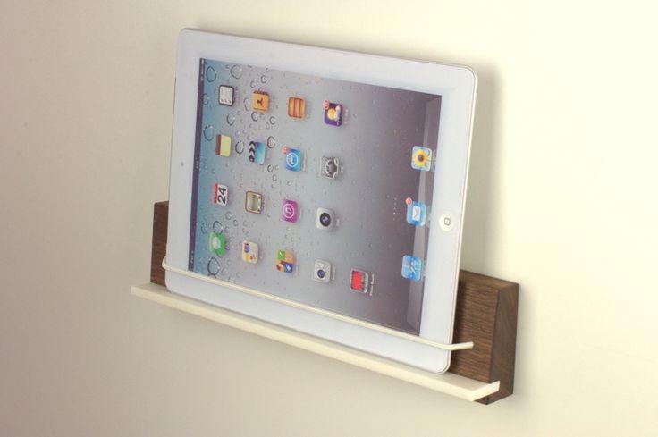 iPad Wandhalterung von klotzaufklotz auf DaWanda.com