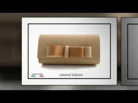 """Kikiamo Collezione Borse e Pochette Limited Edition """"made in Italy"""""""