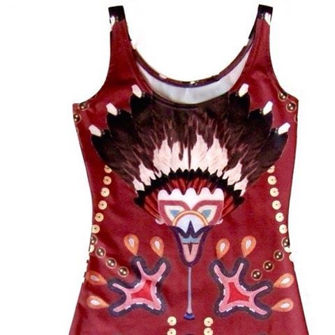 The details in the designs on Jamie Okuma's new dresses are so brilliant and amazing <3 View the latest! >> http://shop.beyondbuckskin.com