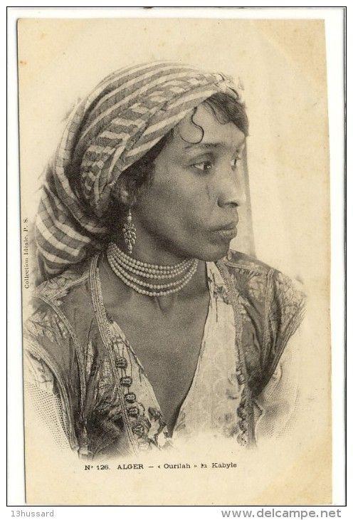 Carte Postale Ancienne Algérie - Kabylie. Ourilah La Kabyle - Femme - Algeria