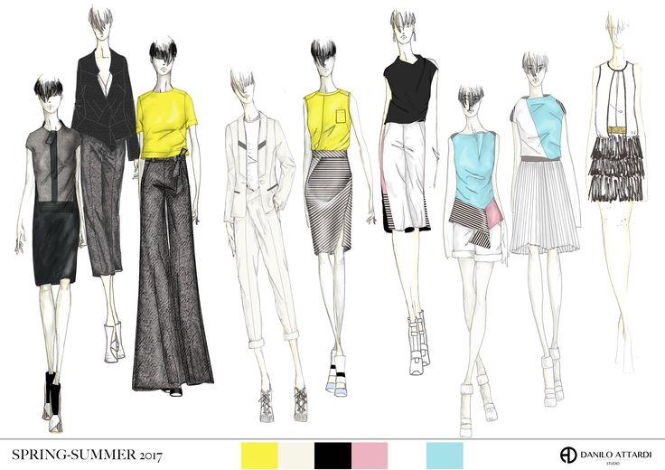 #daniloattardi #fashionillustration #sketches #daniloattardistudio