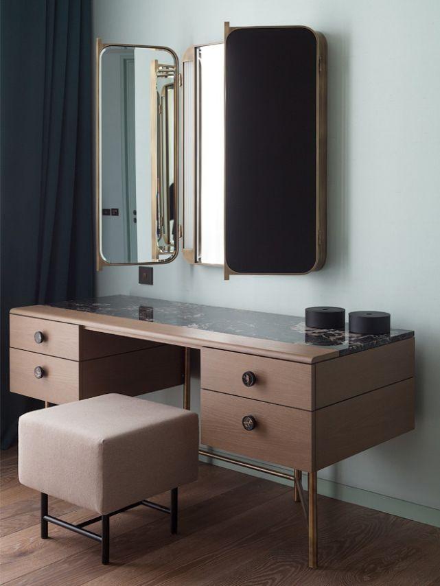 Laostudio apartments in moscow furniture pinterest - Tocador moderno dormitorio ...