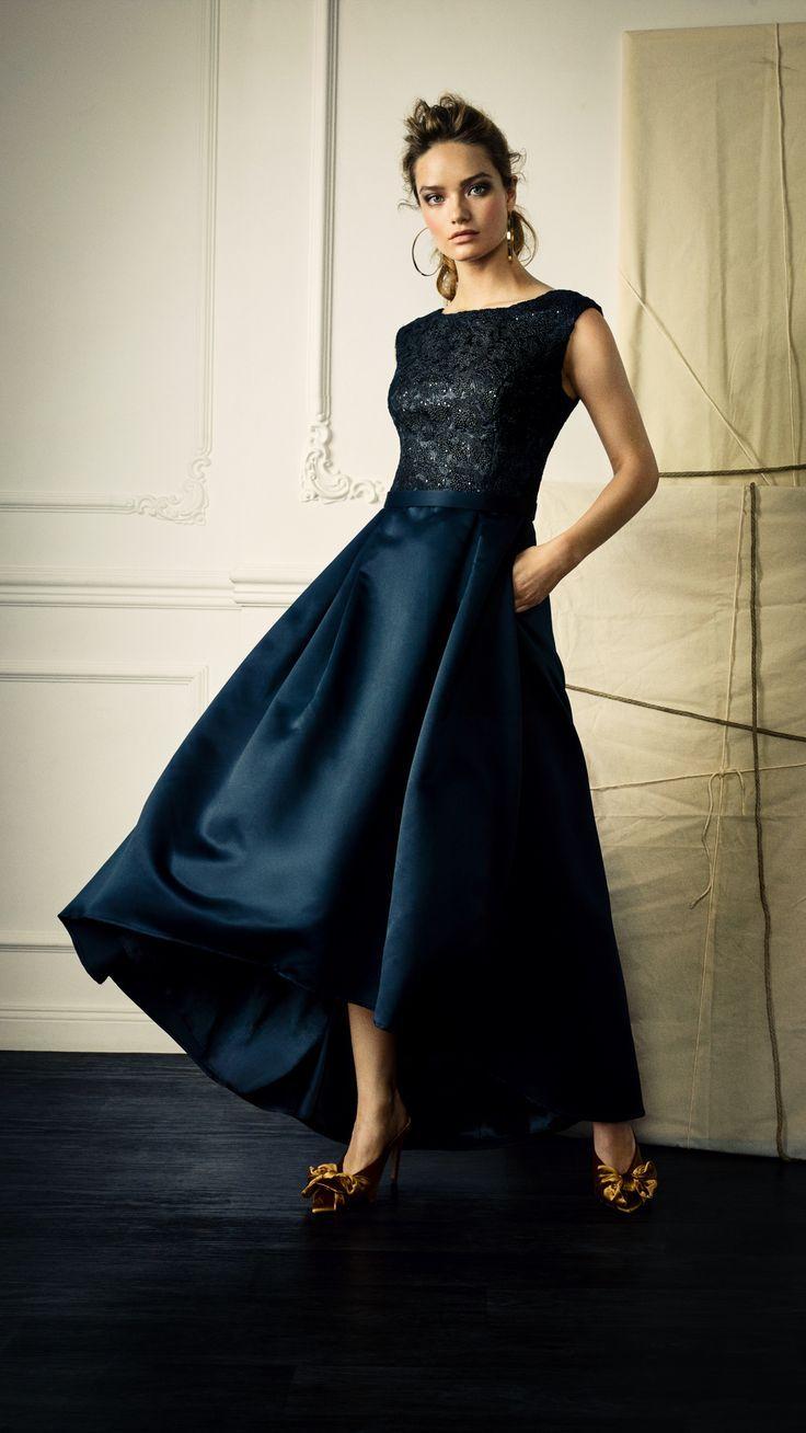 Abendkleid Fur Hochzeitsgaste Brautmutter Oder Trauzeugin Von Vera Mont Aus Der Aktuellen He Fashion Wedding Dresses Dresses