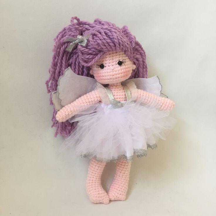 Knit Amigurumi Doll Pattern : Cutest fairy crochet doll amigurumi pinterest