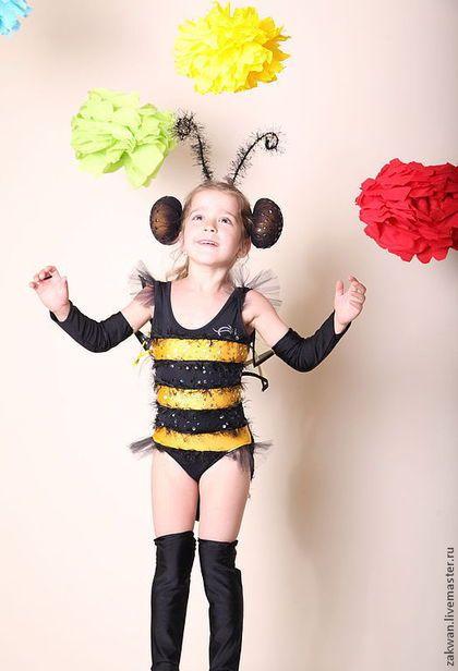 """Детские танцевальные костюмы ручной работы. Ярмарка Мастеров - ручная работа. Купить Костюм для танцев """" Пчелка"""". Handmade. Однотонный"""