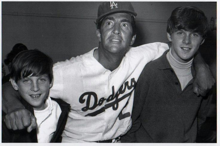 Dean Martin with his sons Ricci and Dean-Paul