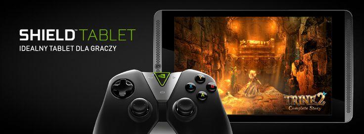 Nowy tablet Nvidia Shield dedykowany dla graczy z wykorzystaniem najbardziej zaawansowanych technologii Nvidia! Sprawdźcie to nowe cacko!  http://www.komputronik.pl/nvidia_shield http://shield.nvidia.pl/gaming-tablet