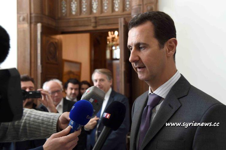 France is a Blind State -President Assad