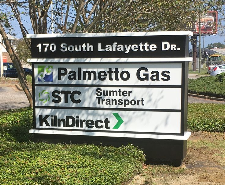 Concept Unlimited's local Monument Sign for Palmetto Gas