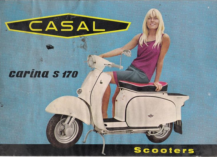Scooter CASAL,carina s 170