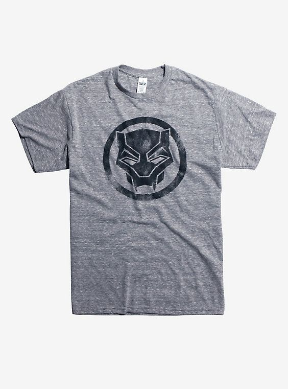 e05bb7607df Marvel Black Panther Logo T-Shirt