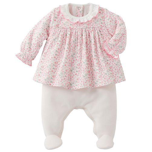Petit Bateau - Pyjama en velours - 143399