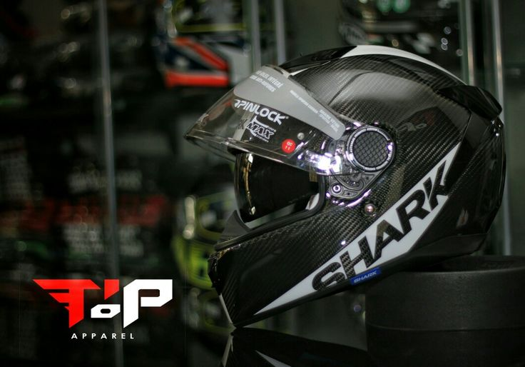 Shark spartan carbon skin.