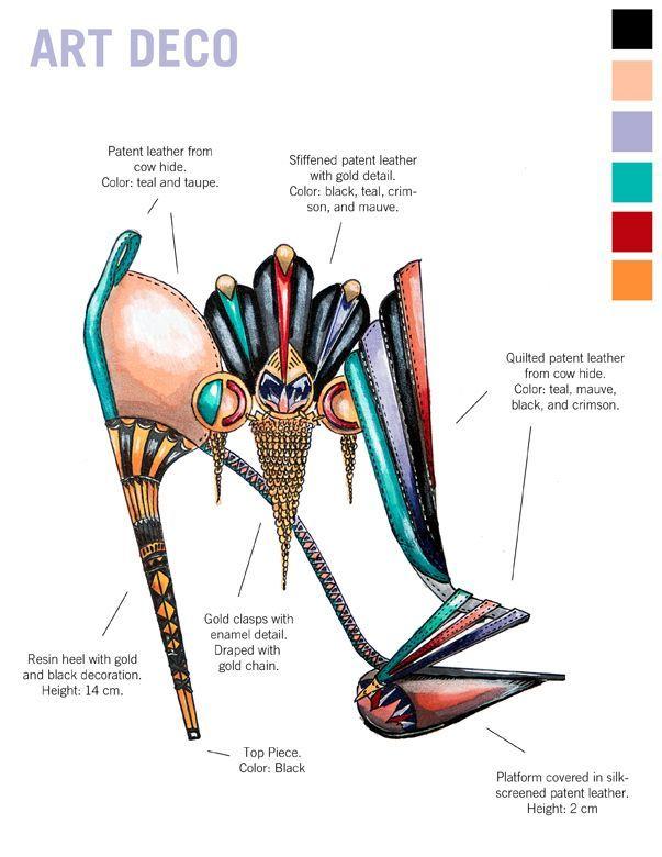 Learn Art History Through 10 Stunning Pairs Of High Fashion Heels Designer Nick Adelman - We #lovedesign