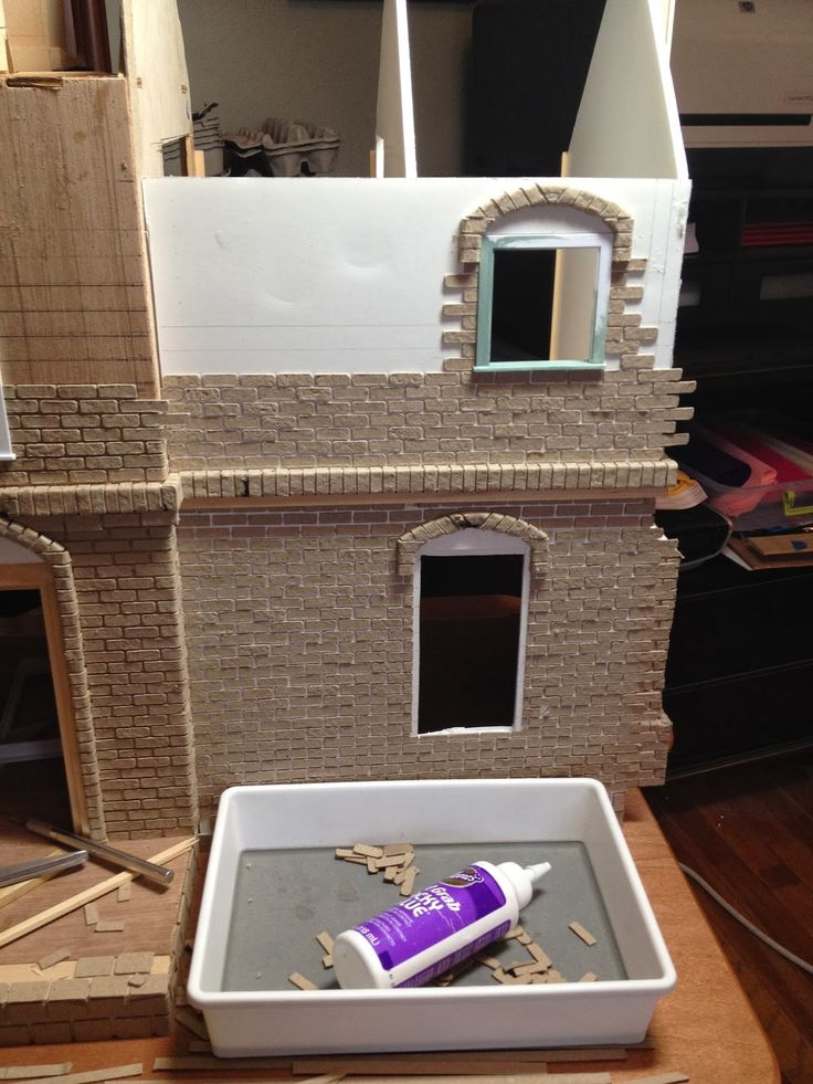 Dollhouse tutorial: tips and tricks for bricking an entire facade