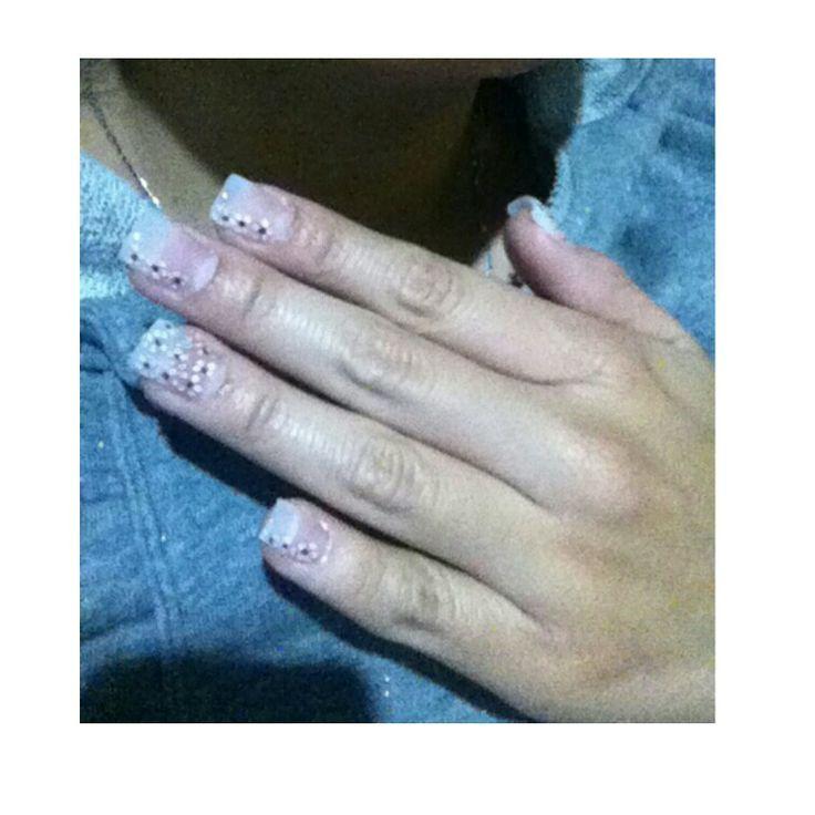 Flores en tus uñas...