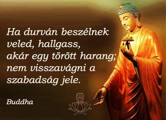 Buddha idézet a nyugalomról.  A kép forrása: Lótuszlélek: