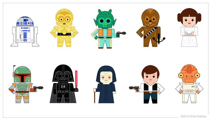 star wars cartoon character joda | ... characters but, when I saw these it had exactly 10. How perfect is