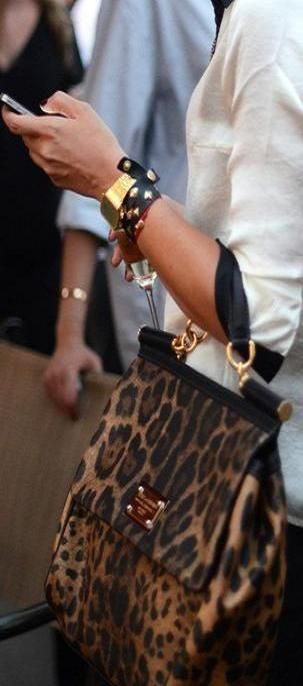 Street style animal | LBV ♥✤ | KeepSmiling | BeStayBeautiful