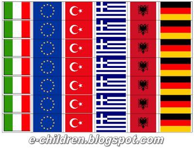 Los Niños: Παιχνίδι με σημαίες για την 25η Μαρτίου & την 28η ...