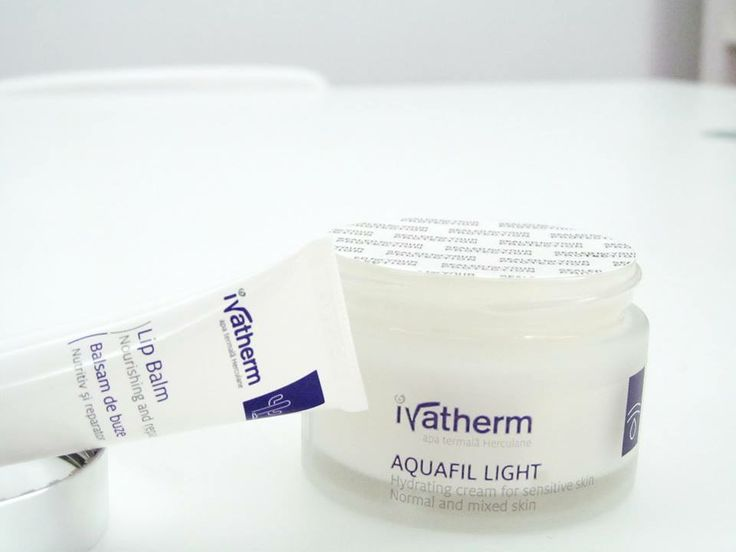 Ivatherm LIp Balm & AQUAFIL Hydrating Face Cream