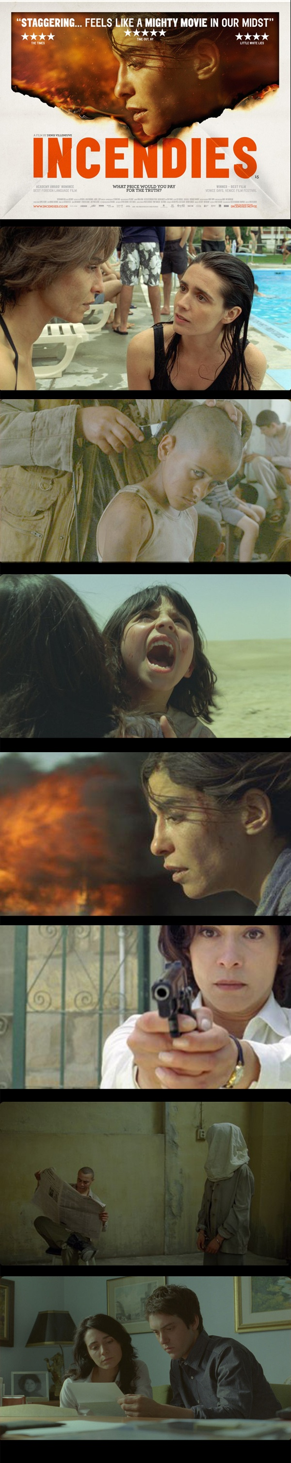 """-jeanne, one plus one, does it make one?"" Incendies by Denis Villeneuve (2010)"