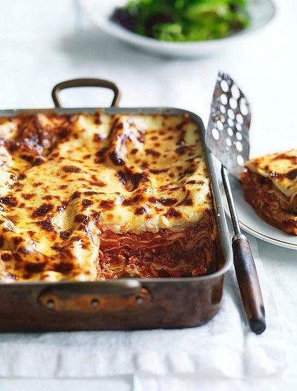 CWA Australia recipes • Australian celebrity chef Neil Perry's buffalo mozzarella lasagne recipe (serves 6) here