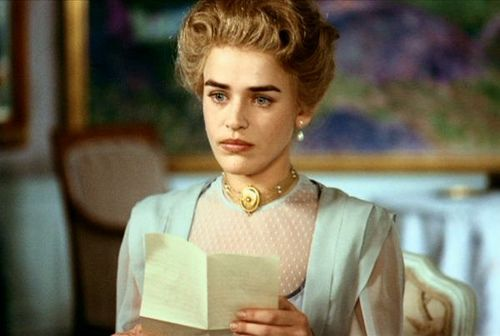 Ewa Froling-scene from ''fanny and alexander'' (in.bergman).  for me the most beautifull woman