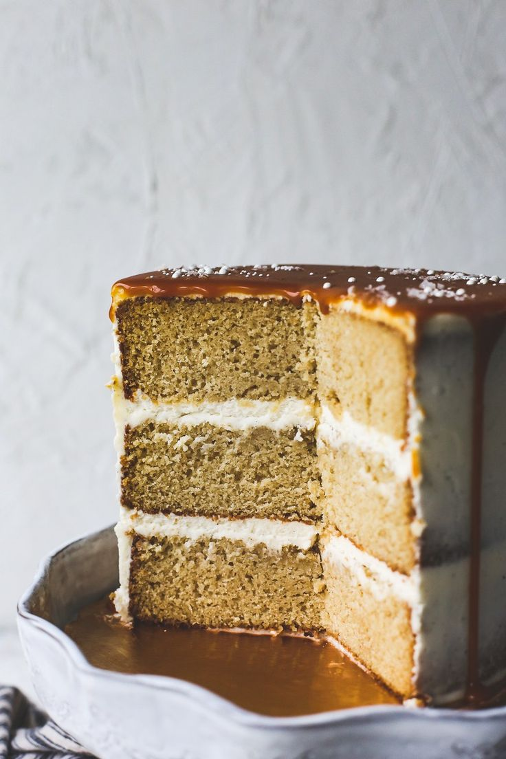 browned butter cake with salted caramel recipe - eat | sweet - delicious - recipes - desert - cakes - tasty - easy - party - parties - styling - food photography